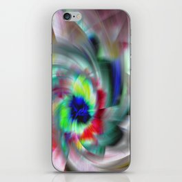 Abstract Color Wheel iPhone Skin