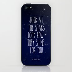 Look How They Shine For You 2.0 iPhone & iPod Skin