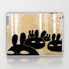 Suspicious Bunnies Laptop & iPad Skin