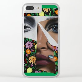 The Fruits of Love Clear iPhone Case