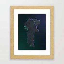 Kryton Framed Art Print