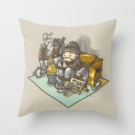 Recessionopoly Throw Pillow