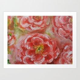 Prairie Flowers Art Print