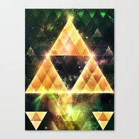 triforce Canvas Prints featuring Triforce by Spires