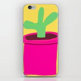 Bright Cactus iPhone Skin