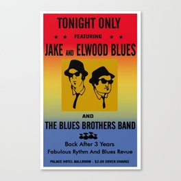 Mission From God Blues Brothers Canvas Print