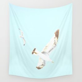 Seagulls Flying Wall Tapestry