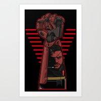 metal gear Art Prints featuring Metal Power Gear by Akyanyme