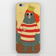King of Pirates iPhone & iPod Skin
