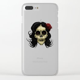 Day Of The Dead Clear iPhone Case