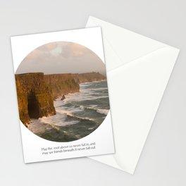 Irish saying Stationery Cards