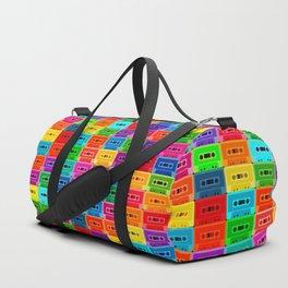 Neon Cassettes Duffle Bag