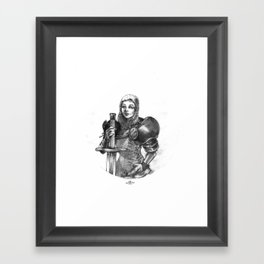 Knighted Framed Art Print
