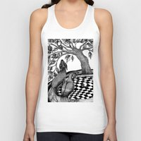 jazzberry Tank Tops featuring The Golden Apples (1) by Judith Clay