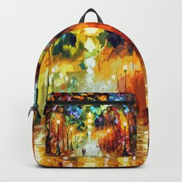 Romantic Starry Night Backpack