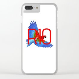 RIO PANTS PARTY Clear iPhone Case