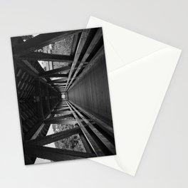 Covered Bridge Interior Stationery Cards