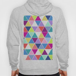 Multi Colour Triangle; Hoody