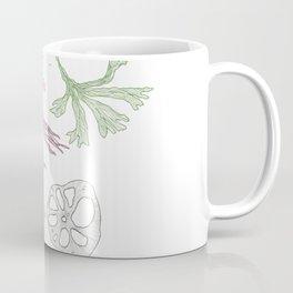 Seaweed and Lotus Root Coffee Mug