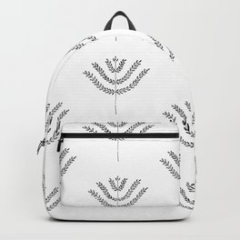 Simple Harvest Pattern Backpack