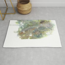 Where the sea sings to the trees - 11 Rug