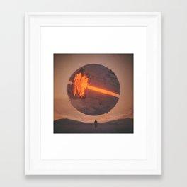 GRIND (everyday 11.22.15) Framed Art Print