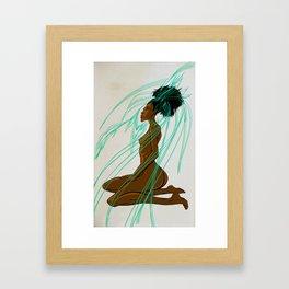 Eagle Goddess Framed Art Print