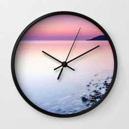 Deganwy Sunset Wall Clock