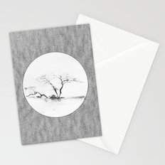 Scots Pine Paper Bag Grey Stationery Cards