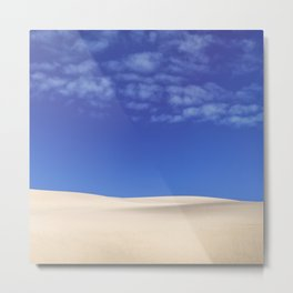 Giant Sand Dunes Metal Print