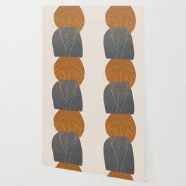 Line Female Figure 82 Wallpaper