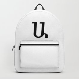 Armenian Letter A Backpack