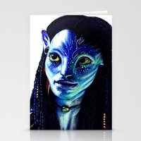avatar Stationery Cards featuring AVATAR by csmithart