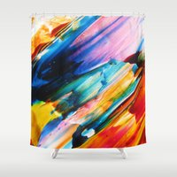 cardinal Shower Curtains featuring Cardinal by j.Webster