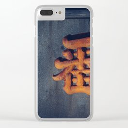 carve Clear iPhone Case