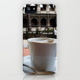 Colosseum Cappuccino iPhone Case