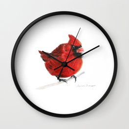 Red by Teresa Thompson Wall Clock