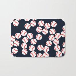 Cute Baseball Bath Mat
