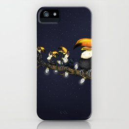 Christmas Toucans iPhone Case