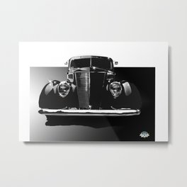 Fabulous Fat Fenders Metal Print