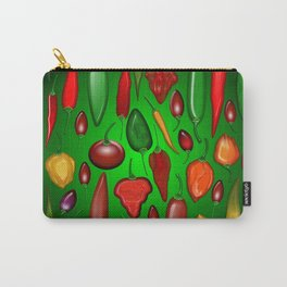 Chili Peppers Hot And Spicy Carry-All Pouch