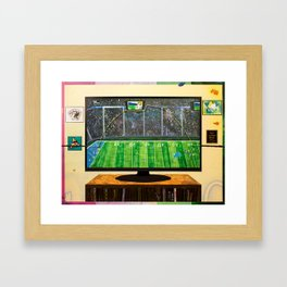 The Miracle in Mike's Apartment Framed Art Print