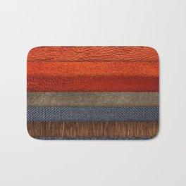 Cool colth texture design Bath Mat