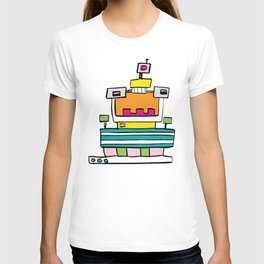 Big Smile Robot T-shirt