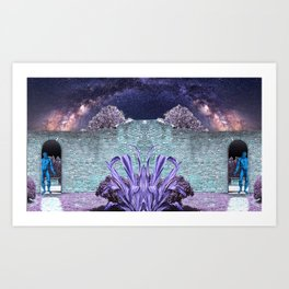 Binary Portal to the Maximum Universe Art Print