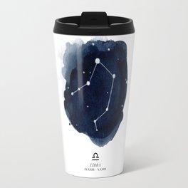 Zodiac Star Constellation - Libra Travel Mug