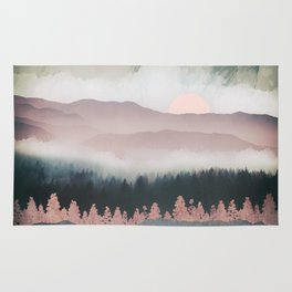 Forest Lake Evening Rug