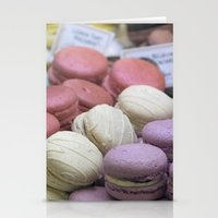 macaroons Stationery Cards featuring macaroons by redlinedesign®
