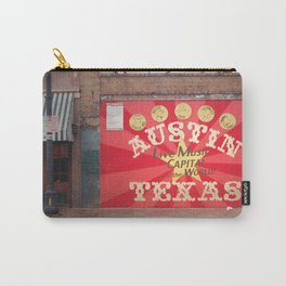 Live Music Capital of the World Carry-All Pouch