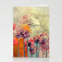 takmaj Stationery Cards featuring Allium by takmaj